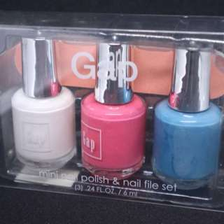 GAP mini Nail Polish set