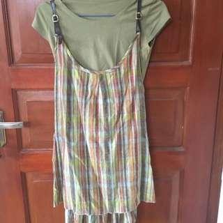 Dress set two piece