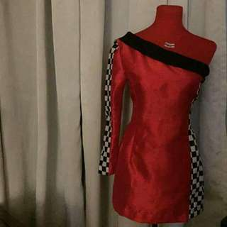AOA chanmi's racing outfit/ costume (reselling)
