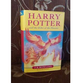 First Edition Harry Potter and the Order of the Phoenix