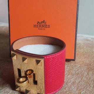 NBU Hermes Kdx RC epsom GHW #R • super exellent condition • buckle 1 side still sealed • pouch and box only / no rec.