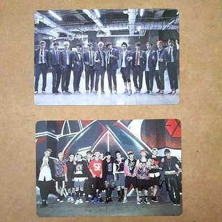 EXO Everysing Group Photocard Set
