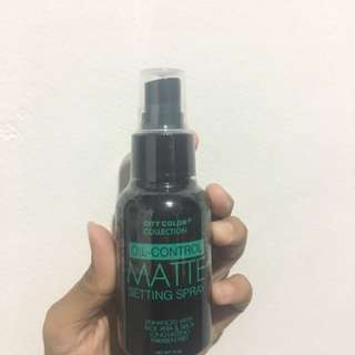 Oil Control Matte Setting Spray City Color