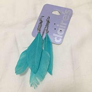 Feather Earrings (BNWT)