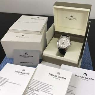 Maurice Lacroix Pontos Small Second Hand
