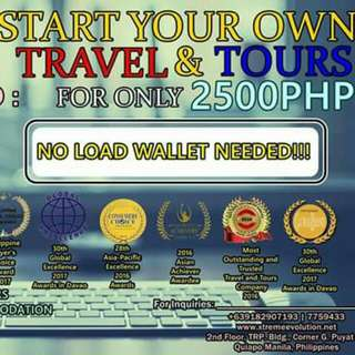 TRAVEL AND TOURS FRANCHISE