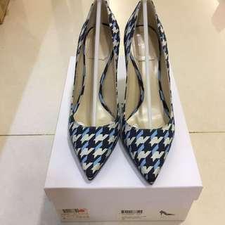 Christian Dior 千鳥格高跟鞋36號