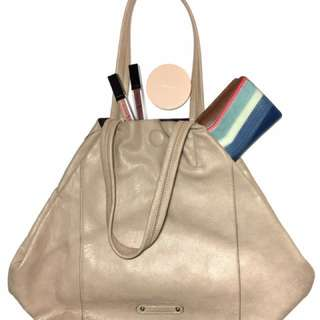Forever 21 Cream Tote Bag