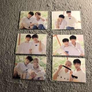 Seventeen japan trading cards