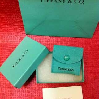全新100% 真品 Tiffany 小首飾禮盒套裝