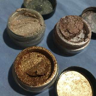 Loose shimmer for eyeshadow