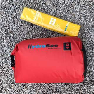 Immediate clearance sale while stock lasts -  Genuine HYDROSAC dry bag with sling