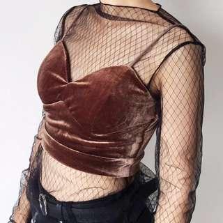 Mesh undershirt
