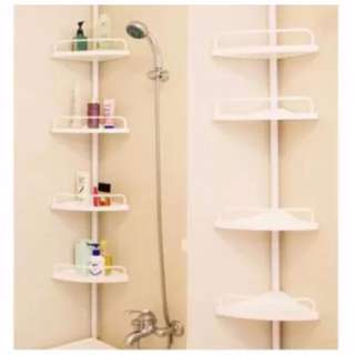 Adjustable Bathroom Corner Pole Caddy Shower Organizer Free Delivery in all NCR Area Cash On Delivery Nationwide