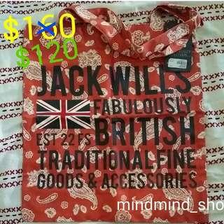 jackwills 環保袋