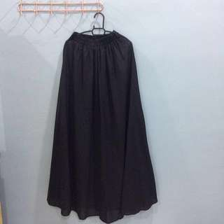 Skirt Kembang (Black)