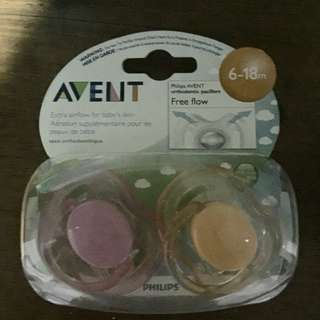 Avent Pacifiers (6-18 Months)