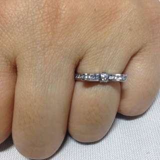 Pandora bow ring size 5 mirror copy
