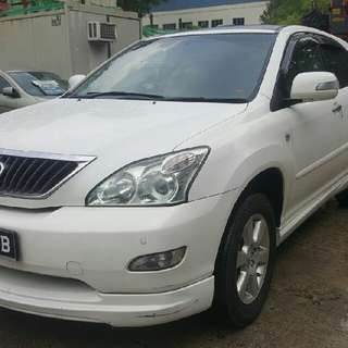 TOYOTA HARRIER 2.4(A) 2007 PANORAMIC ROOF