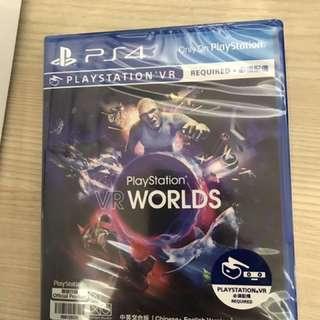 Vr world ps4 psvr game