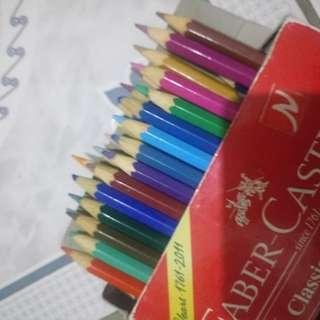 Repriced: Faber-Castell Colour Pencils