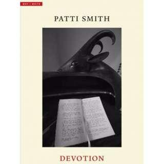 (PO) Devotion By Patti Smith (Hardback)