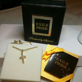 購自日本EXILE PRIDE 珍藏紀念頸鍊
