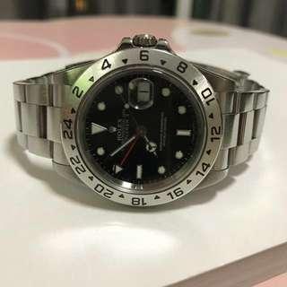 WTS Rolex Explorer 2 16570 Black