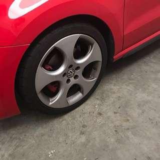 Volkswagen 2011 Polo GTI Stock Denver Rims