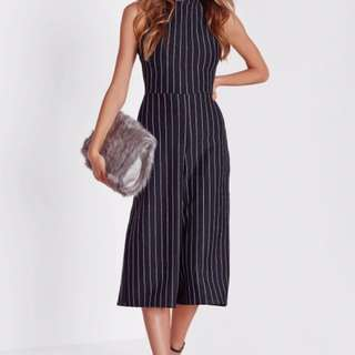 Jumpsuit misguided striped large