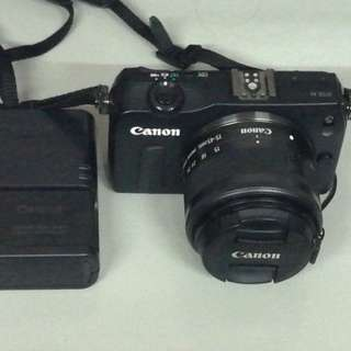 Canon eos m w 15-45mm wide stm lens hd video