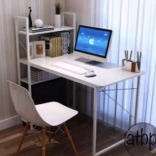 Computer Table with Book Rack #02