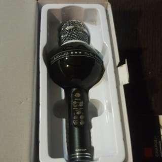 Wireless microphone hifi speakers