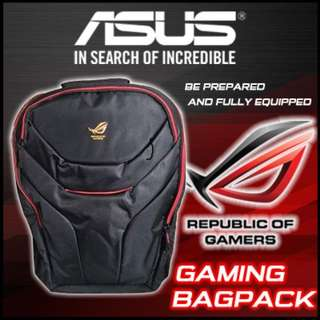 asus rog gaming laptop backpack