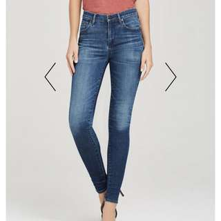 Citizens of Humanity Rocket Highrise skinny size:28 in colour Aura
