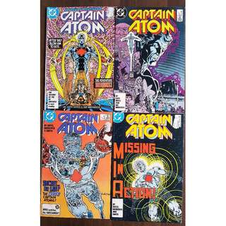 Captain Atom 1 - 7 (DC Comics 1987)