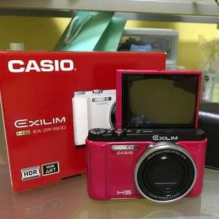 (USED) Casio EX ZR1500 (Pink)