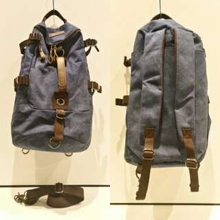 BN 3in 1 CANVAS BACKPACK