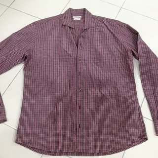 H.E By MANGO Smart Casual Shirt (Red)