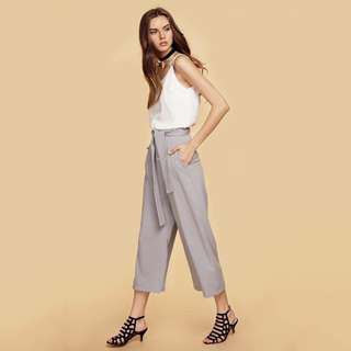 TCL Milton culottes in grey