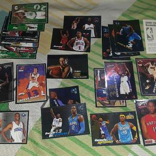 Panini NBA Collectible Stickers 90's