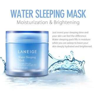 LANIEGE Water Sleeping Mask 70mL NEW