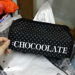 全新 Chocoolate 星星 紙巾盒