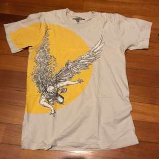 Threadless T shirt with Icarus Print