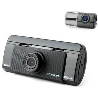 iRoad v9 前後車cam (連上門安裝, 歐洲車電車另議)