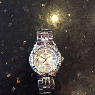 Silver Guess Watch Womens