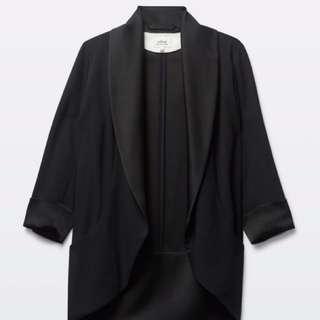 Wilfred Chevalier blazer- satin lapel tuxedo style like new condition