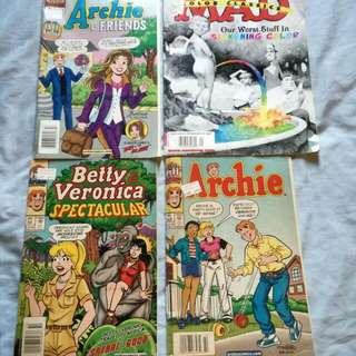 Classic Comics - Archies and MAD