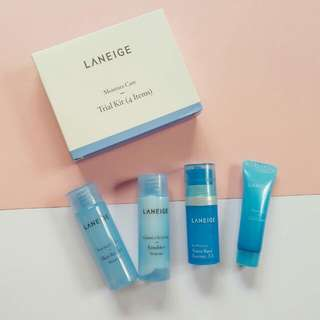 Laneige Moisture Care Trial/travel Kit