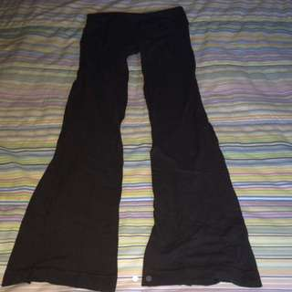 Lululemon grey yoga pants size 4